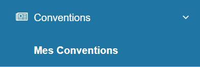 Menu Mes Conventions