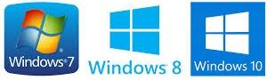 Windows 7 8 et 10