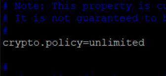 Java v8 Crypto Unlimited