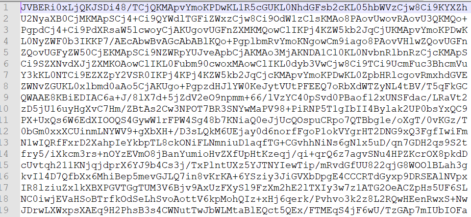 getElectronicDocument Base64