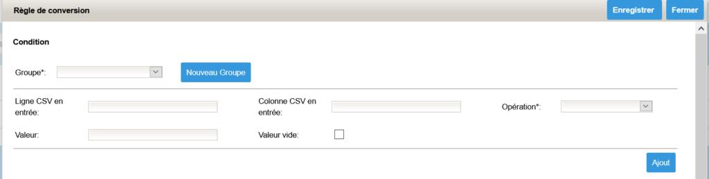 Convertisseur XML CSV